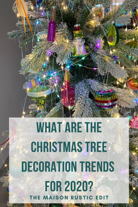 What are the Christmas Tree decoration trends 2020?