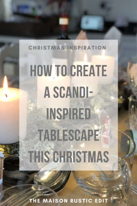 How to create a Scandi-inspired tablescape this Christmas