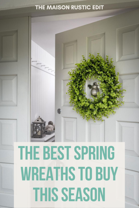 The best Spring wreaths to buy this season
